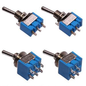 Miniatur Kippschalter/Kipptaster EIN-AUS ON-OFF Serie MTS Mini Schalter Taster