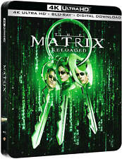 The Matrix Reloded 4K UHD Steelbook+Blu Ray Dolby Vision / WORLDWIDE SHIPPING