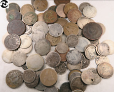 (1) 1790's-1890's Random Odd Denomination Old Type Us Coin / Low Grade & W/Date