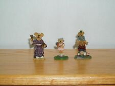 Boyds Town Village Figures Phoebe Ms. Bruin Jimmy Peter Bearly A School Set Acc.