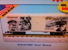 "Usa Trains G Scale R19123 World War 1 ""Aces"" Boxcar"