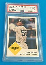 2003 03 Fleer Tradition Update Baseball Complete Set U1-398 Matsui PSA 9 NICE