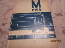 1958 Moline (IL) High School The M Yearbook Annual