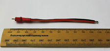 Mini Deans T Plug connector pigtail/cable 100mm 18 AWG silicone wire RC buggy