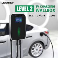 EV Charger 16A Elektroauto Ladestation Typ2 3Phase IEC 62196-2 WALLBOX Ladegerät