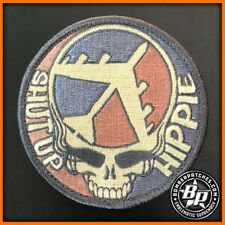 NEW! B-52 SHUT UP HIPPIE COLOR SUBDUED PATCH, 2017 VERSION, BARKSDALE MINOT AFB