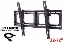 """Full Motion Tilt Swivel Tv Wall Mount VESA Bracket 32 40 42 50 55 60 65 70 72"""""""