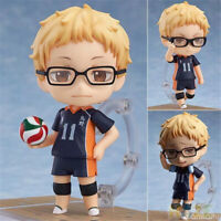 Anime Haikyuu!! Kei Tsukishima PVC Action Figure Model Toy New 4''