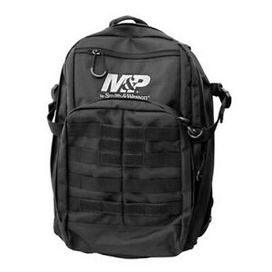 Smith & Wesson 110017 Duty Series MOLLE Webbing Black Nylon Tactical Backpack