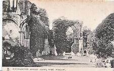 Hampshire Postcard - Southampton - Netley Abbey - West Window       A6948