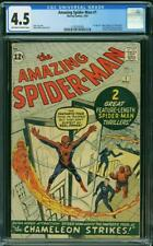 Amazing Spider-Man 1 CGC 4.5 ow/w pages!