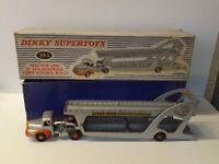 Dinky Supertoys Tacteur Unic Porte-voitures Boilot + boite réf 39 A **L@@K**