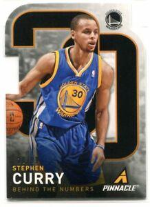 2013-14 Pinnacle Behind the Numbers Die Cuts 10 Stephen Curry 20/99