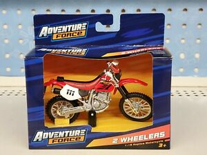 Motorcycle Honda XR 400 R Adventure Force 2 Wheelers 1:18 Replica New in Box