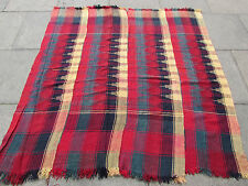 Old Tribal Nomadic Hand Made Persian Oriental Red Wool MOJJ Kilim 171x165cm