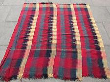 Old Tribal Nomadic Hand Made Persian Oriental Red Wool MOJJ Kilim 171x165cm