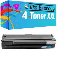 4 toner XL para Samsung mlt-d1042s ml-1660 ml-1660 n ml-1665 ml-1666 ml-1670