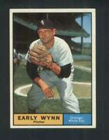 1961 Topps #455 Early Wynn NM/NM+ White Sox 123191
