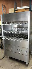 Brazilian gas BBQ rotisserie, commercial