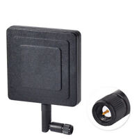 2.4GHz 8dBi SMA Male Panel Screw-On Swivel Antenna for WiFi Booster IP Camera