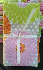"Quilting Fabric Bundle Mums 5x 18""x21"" pcs orange pink green"