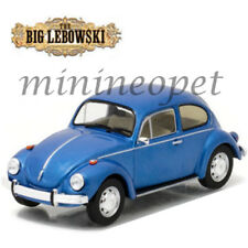 GREENLIGHT 86496 THE BIG LEBOWSKI MOVIE DA FINO'S VOLKSWAGEN BEETLE 1/43 BLUE