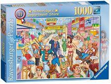 RAVENSBURGER BEST OF BRITISH NITEBRIDGES DEPARTMENT STORE 1000 pc JIGSAW PUZZLE