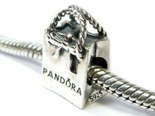AUTHENTIC PANDORA 925 ALE STERLING SILVER GIFT SHOPPING BAG CHARM BEAD 791184