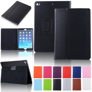 Magnetic Folio Leather Stand Protective Case For Apple iPad mini 1 2 3 4 5 Cover
