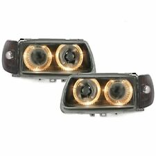 2 PHARES ANGEL EYES VW POLO 6N 6N1 CHROME LED 10/1994 à 08/1999