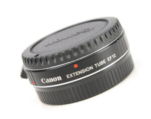 Canon Extension Tube EF12 + Front &  Rear Caps  - EXC