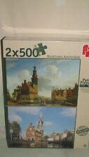 Jumbo 18347 Puzzle Munttoren Amsterdam 1751 et aujourd'HUI 2 x 500 pièces NEUF