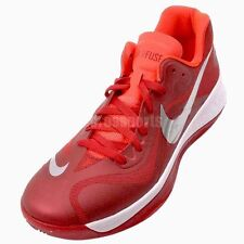 NEW NIKE MEN'S HYPERFUSE LOW TB BASKETBALL SHOES GYM RED/METALIC SILVER SZ/ 13