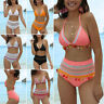 Sexy Women Love Bikini Set Push-up Swimsuit Bathing Suit High Waist Swimwear US