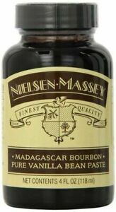 Nielsen-Massey Madagascar Bourbon Pure Vanilla Bean Paste 4oz