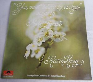 YOU MUST BELIEVE MICHEL LEGRAND KARIN KROG CONTEMPARY JAZZ 1974 Polydor 2382 044