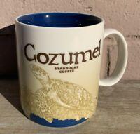 Starbucks Cozumel Mexico Global Icon Series Coffee Cup Mug 2016 16 Fl Oz Turtle