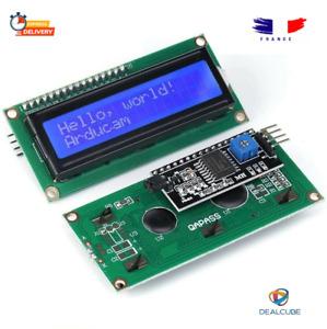 LCD 1602 Bleu vert HD44780 I2C Interface Display Arduino