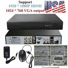 HDMI 4CH DVR H.264 Standalone Video Recorder for CCTV Analog Security Cameras AL