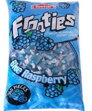Frooties Tootsie Blue Raspberry Fruit Flavored Chewy Candy (360 Count)