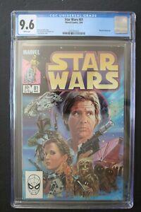 STAR WARS #81 Classic BOBA FETT 1984 1st Post-JEDI story Mandalorian DTV CGC 9.6
