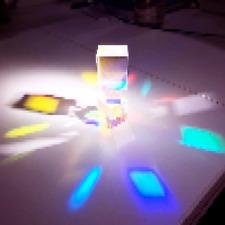 20PCS Defective Optical Dichroic X-Cube Prism RGB Combiner Splitter for DIY