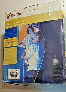 Kidde 468094 Emergency Escape Ladder,25 Ft,3-Story