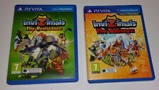 Invizimals: The Resistance & The Alliance PS Vita UK PAL For Kids PSV 2 Games