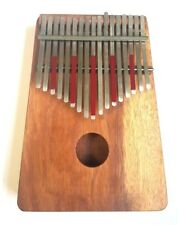 HUGH TRACEY Treble 17 Note KALIMBA well tuned in a great condition.