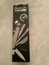 Bar10der Stainless Steel Bartending Tool & Bonus Cocktail Guide by Quench New