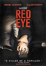 Wes Craven's Red Eye ~ Rachel McAdams Cillian Murphy ~ DVD ~ FREE Shipping USA
