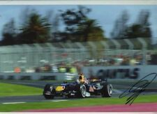 David Coulthard Red Bull RB2 Grand Prix d'Australie 2006 signé photographie