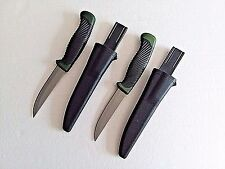 2 BUDK Wahoo Killer Fillet Fixed Blade Knife For Fishing Hunting Etc. Olive Drab
