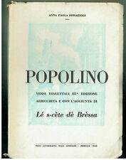 POPOLINO VERSI DIALETTALI BONAZZOLI 1958